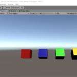 スクリプトからのGameObjectの基本的操作(座標・回転・色の指定)【Unity】